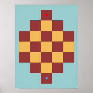 Camelot Vers VI (Camette) Game Board Poster