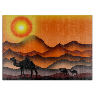 Camels 1 cutting board