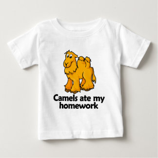 Camels ate my homework baby T-Shirt