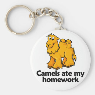 Camels ate my homework keychain