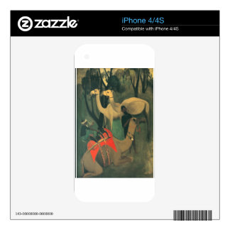 Camels by Amrita Sher-Gil iPhone 4 Decals