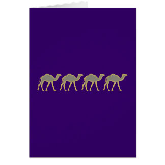 Camels camels greeting cards