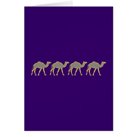 Camels camels card