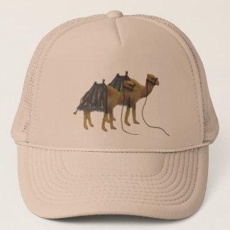 Camels in the desert Cap