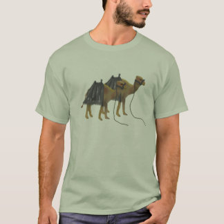 Camels in the desert T-Shirt