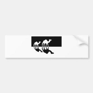 camels.jpg car bumper sticker