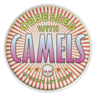 Camels Obsessed R Dinner Plates