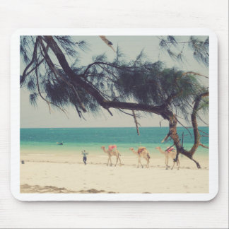 Camels' Ride Mouse Pad
