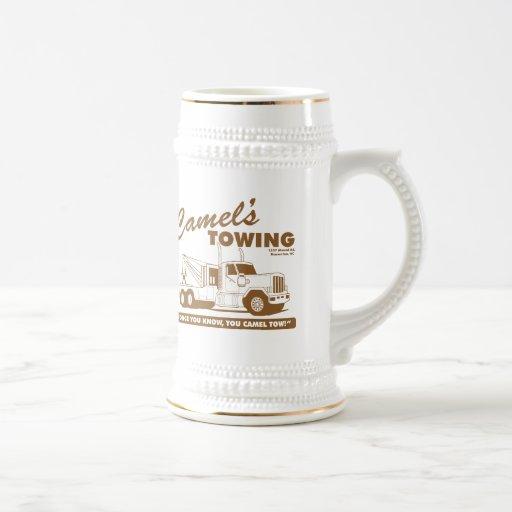 camel's towing company coffee mugs
