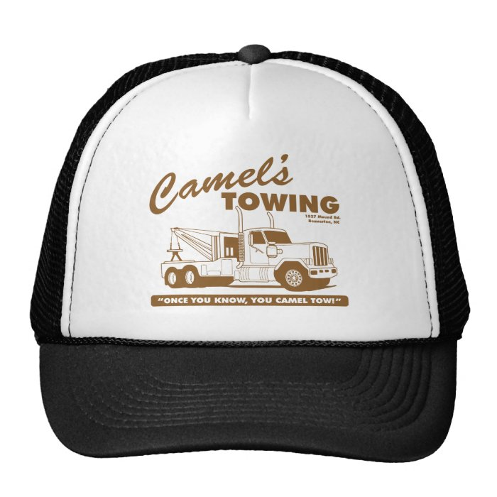 camel's towing company trucker hat