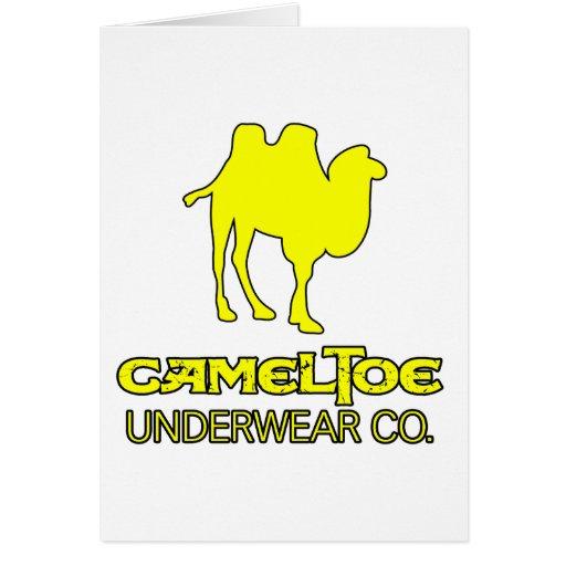 Cameltoe Underwear Company Spoof Camel Toe Vagina Card
