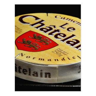 Camembert Cheese Box Postcard