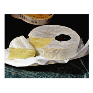 Camembert Cheese Postcard