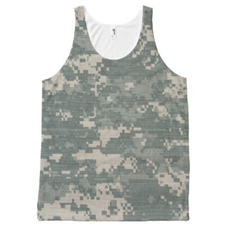 Cameo All-Over Printed Unisex Tank