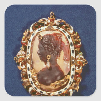 Cameo bearing the profile head square sticker