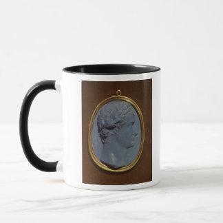 Cameo bearing the profile of Tiberius Mug