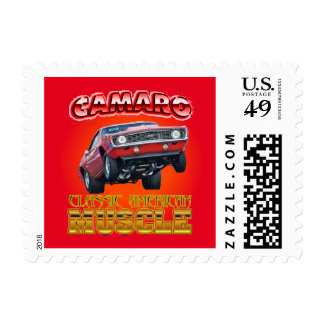 Cameo Classic American Muscle Stamp. Postage