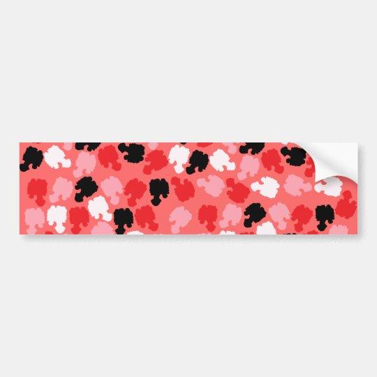 Cameo Confetti Bumper Sticker