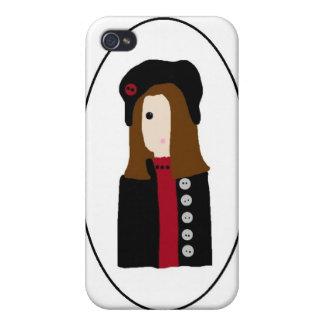 Cameo Girl - Winter iPhone 4/4S Case