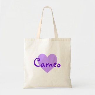 Cameo in Purple Tote Bag
