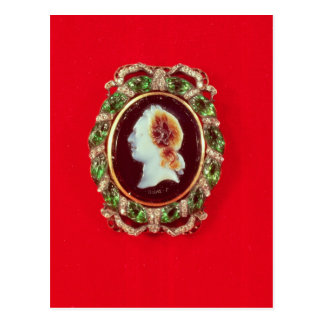 Cameo of Louis XV  from a bracelet worn Postcard