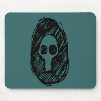 Cameo of Skulls Mouse Pad