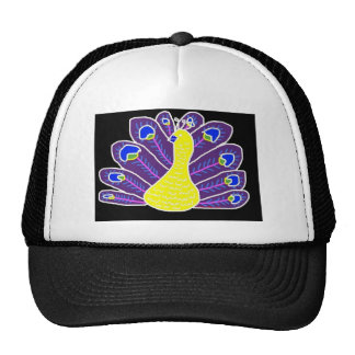 Cameo Peacock Trucker Hat