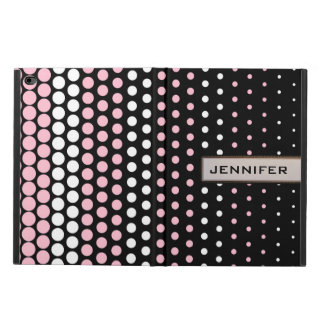 Cameo Pink and White Polka Dot Powis iPad Air 2 Case