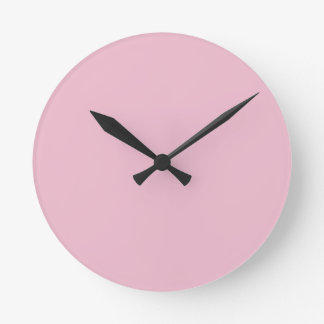 Cameo Pink.png Round Clock