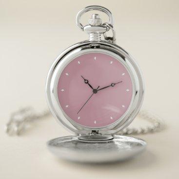 Cameo Pink Pocket Watch