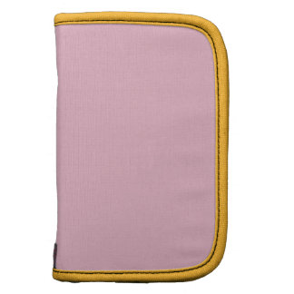 Cameo Pink Saffron Formal Color Matching Folio Planners