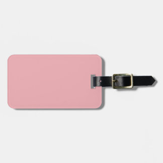 CAMEO PINK (solid color) ~ Bag Tag