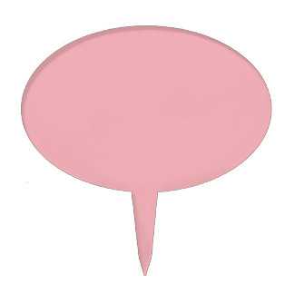 CAMEO PINK (solid color) ~ Cake Topper