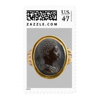 Cameo with Bust of an African Boy Postage