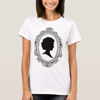 Cameo With Decorative Border T-Shirt