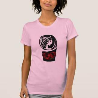 Cameo With Rose T-Shirt