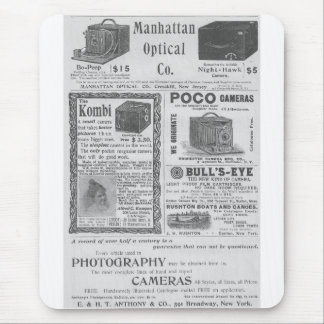 Camera ads mouse pad