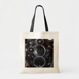 Camera Antique Vintage Photograph Tote Bag