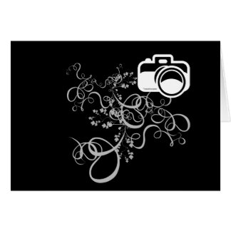 Camera Art Stationery Note Card