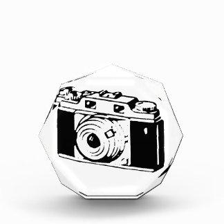 Camera, Black And White Acrylic Award