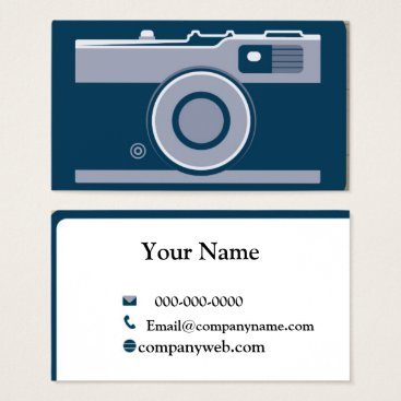 Professional Business Camera Business Card