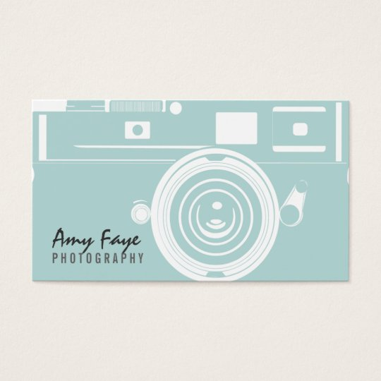 Camera Business Cards graphy