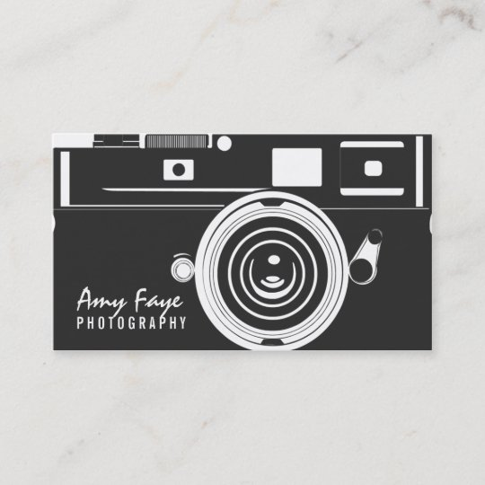 Camera business cards photography zazzle camera business cards photography reheart Choice Image