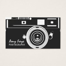 Camera Business Cards | Photography at Zazzle