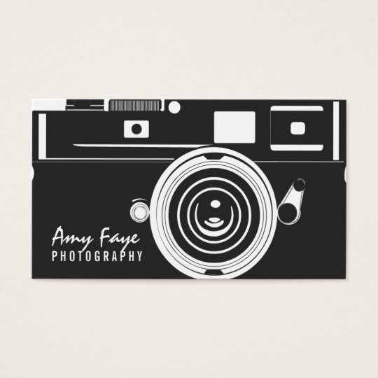 Camera Business Cards | Photography | Zazzle
