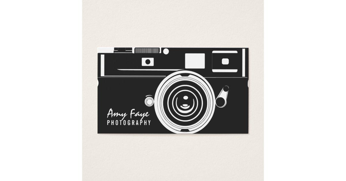 Camera business cards photography zazzle colourmoves Choice Image