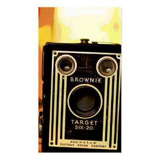 Camera Collector Vintage Camera Business Card