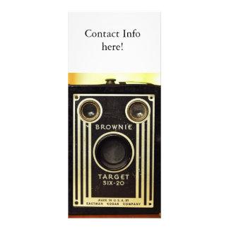 Camera Collector Vintage Camera Custom Rack Card