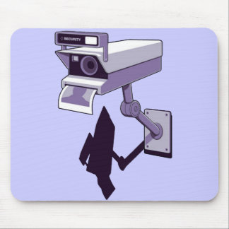 Câmera de Segurança Mousepad