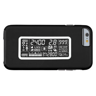 Camera Functions Pictogram iPhone 6 Case